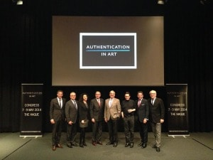 Autentication in Art Congress, The Hague May 2014.