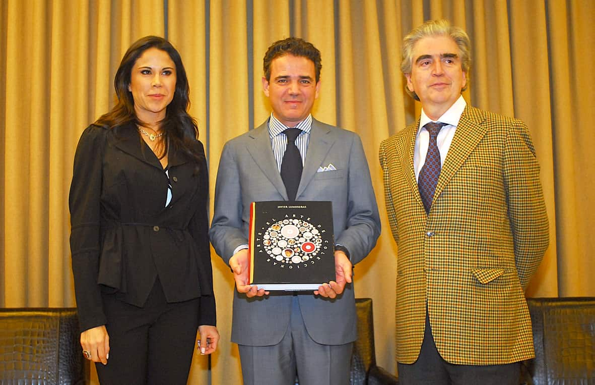 Paola Rojas, Journalist. Javier Lumbreras, Author. Rafael Tovar y de Teresa, Mexico's Minister of Arts and Cultural Affairs.